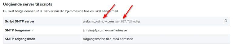 husk-min-hjemmeside-simply smtp